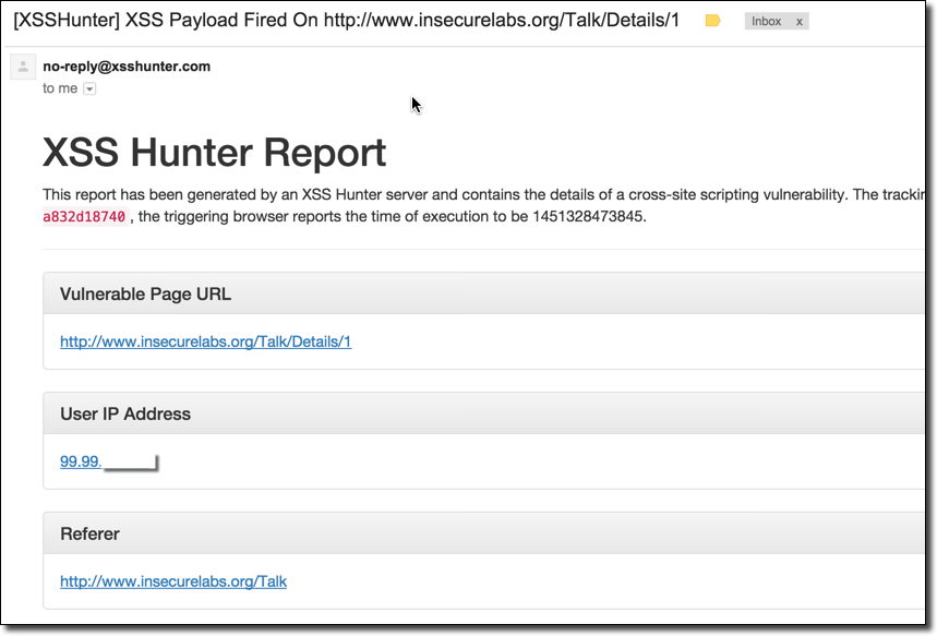 Learn more about how XSS Hunter can help you find even